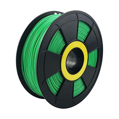 ZIRO 3D Printer Filament PLA PRO Basic Color Series 1.75MM 1KG(2.2lbs), Dimensional Accuracy +/- 0.03mm, Green