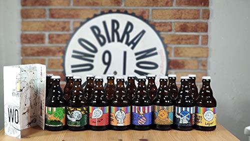 BOX DEGUSTAZIONE GIRO DEL MONDO IN 16 BIRRE - Giro del mondo in 16 birre artigianali da 33 cl , 8...