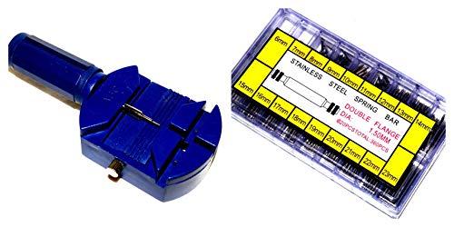 300x Uhren Edelstahl Federstege Springbar Federsteg Federstifte Uhrenstifte Uhr Armbandkürzer Schmuck Uhrmacherbedarf Stiftausdrücker 6 bis 23mm