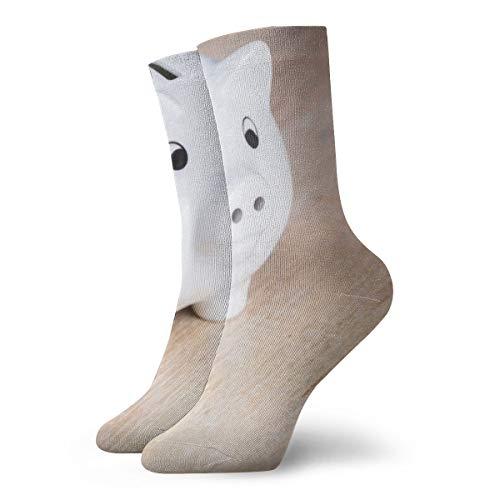 OUYouDeFangA - Hucha para adulto, calcetines cortos de algodón, para yoga, senderismo, ciclismo, correr, fútbol, deportes