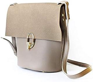 Lenz Crossbody Bag For Women - Khaki, AM19-B036