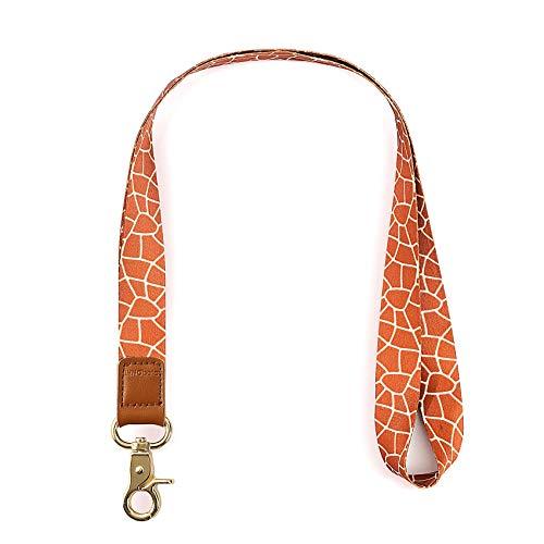 INNObeta Schlüsselband Umhängeband für Schlüssel, Telefon, Doppelseitiger Druck in Voller Farbe Umhängeband mit Hoher Qualität Giraffe