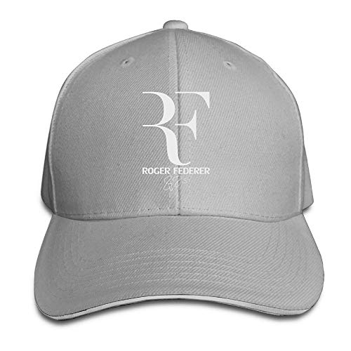 Miedhki Nubia Roger RF Federer Sandwich Peak Custom Hat Snapback Hat Black Fashion30