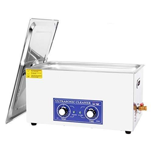 Tatayang 15L Ultraschallreinigungsgerät Mit Heizung, 400W Ultraschallreiniger aus Edelstahl Ultraschallbad Ultraschall Reinigungsgerät für Brillen Schmuck Zahnprothesen Münzen usw