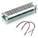 Module de mesure de fréquence, compteur de signaux RF Fréquencemètre Hz Fréquencemètre Cymomètre de fréquence avec affichage LED pour la mesure de fréquence de routine(green)
