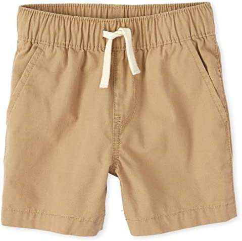 The Children s Place Boys Baby and Toddler Pull On Jogger Shorts Flax 18 24 Months product image