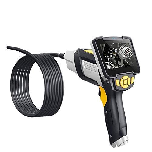 JINTD Endoscopio de Drenaje de Alcantarillado Industrial Impermeable Multifuncional IP67 8mm Boroscopio con Pantalla LCD De 4.3 '' para La Verificación del Motor (Size : 10m)