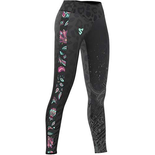SMMASH Cheetah Figurformende Leggins Damen, Printed Sporthosen mit High Waist und Push Up, Sport Lange, Tights Hosen für Yoga, Blickdichte Fitnesshose, Shaping Yogahose (S)