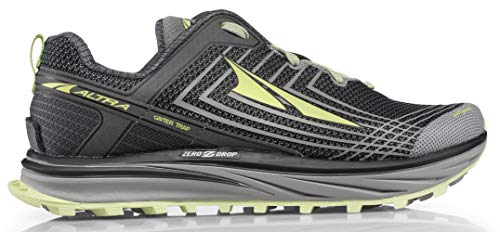 ALTRA Women's ALW1957F TIMP 1.5 Trail Running Shoe, Gray/Lime - 9.5 M US