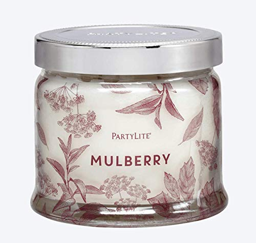 PartyLite 3 Wick Candle Jar - Blackberry