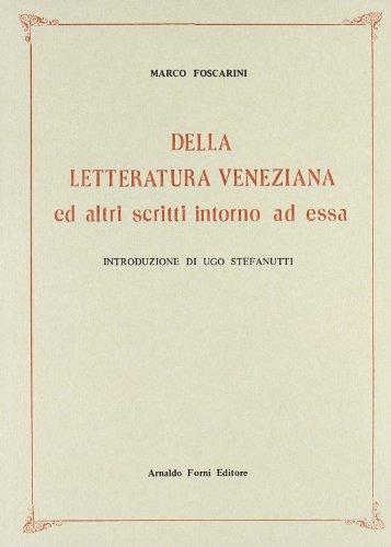 Della letteratura veneziana (rist. anast. 1854)