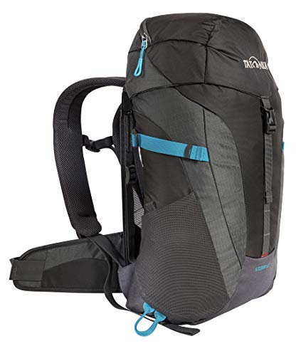 Tatonka Storm 20 Wanderrucksack mit Rückenbelüftung und Regenhülle - Frauen - Männer - 20 Liter - titan grey