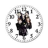 イギリスのホラーパンクバンドクリーパー Creeper Callous Heart 壁掛け時計 ウォールクロック 静音 シンプル 掛け時計 大文字 電池式 カフェ 寝室 店舗 家 掛時計 直径約25cm