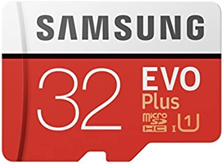 Samsung MB-MC32GA/EU Carte mémoire MicroSD Evo Plus 32G avec adaptateur SD