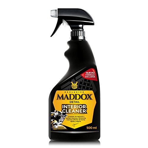 Maddox Detail - Interior Cleaner - Limpiador de Tapicería Textil, Alfombrillas Y Techos (500 ml)