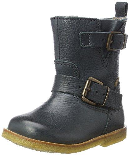 Bisgaard Unisex-Kinder Stiefel, Grün (609-2 Petrolio), 33 EU