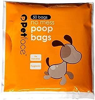 Petface No Mess Dog Poop Bags, 50-Piece