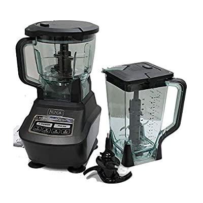 Ninja Mega Kitchen System (Blender, Processor, Nutri Ninja Cups) BL770 (Renewed)