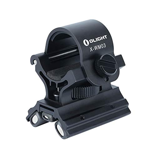 Olight X-WM03 Montura Magnética para Linterna, Soporte para Linterna profesional para Caza