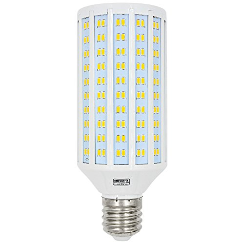 MENGS Bombillas LED E40 50W Lámpara LED Blanco Cálido 3000K, 4400LM,