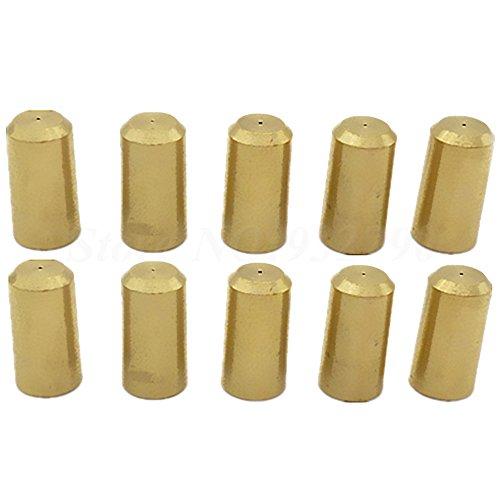 10 Stücke Messing 3,17 Mm Elektrische Mini Motorwelle Spannvorrichtung Spannfutter Für 0,3 Mm-4 Mm Jt0 Motor Bohrfutter Bohrmaschine Elektrowerkzeug