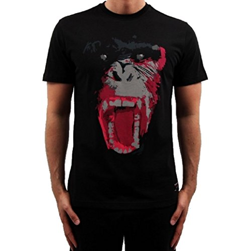 Banger Musik Majoe T-Shirt Gorilla schwarz (L)