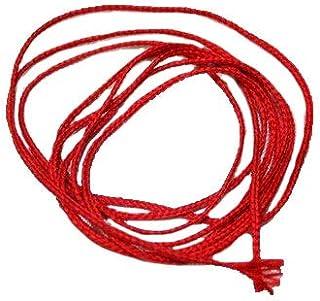 Red Thread Slik Kalwa Raksha Sutra Nazar Dhaga Evil Eye Protection Thread Religious Red Thread Lal Dhaga (20 Meater)
