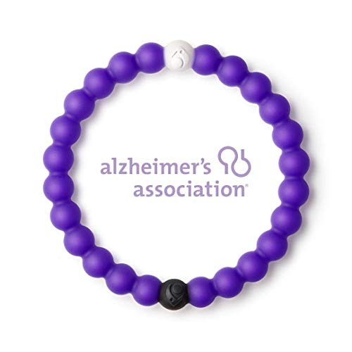Lokai Split Purple Limited Edition Bracelet - Size Large