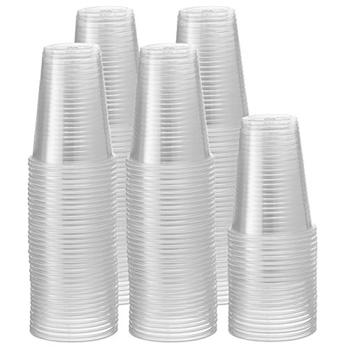 9 oz. Clear Disposable Plastic Cups