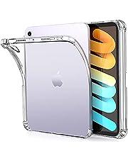 ZtotopCases iPad Mini6 ケース 2021 8.3インチ クリア ペンシル収納 TPUソフト軽量保護 Pencil 2のペアリング・充電対応 iPad Mini(第六世代)専用 スマートカバー(クリア)