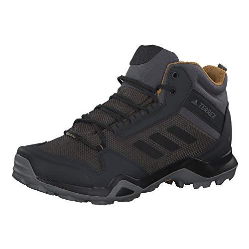adidas Mens TERREX AX3 Mid GTX Walking Shoe, Grey/Core Black/Mesa, 46 EU