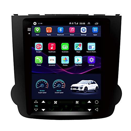Kilcvt Auto GPS Navigation Stereo, 9 in/Android 10 Auto Multimedia Player, Für Alte Honda CRV 07-11 Vertikale...