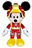 Famosa Softies - Mickey y Los Super Pilotos Peluche Mickey, 55 cm (Famosa 760014869)
