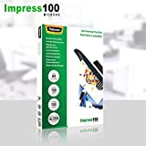 Zoom IMG-2 fellowes 5351111 pouches lucide impress100