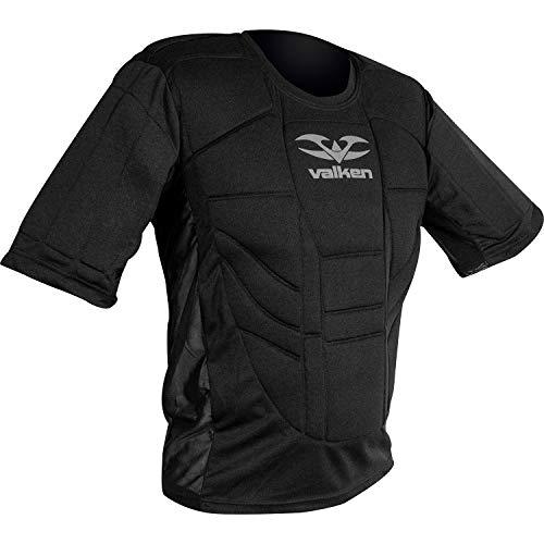 Valken Boy Stoßhemd mit Pads für Brust und Oberkörper, Schwarz, Mittelgroß.