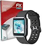 atFoliX Schutzfolie kompatibel mit Yamay SW020 Folie, ultraklare & Flexible FX Bildschirmschutzfolie (3X)