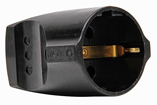 Kopp 183205003 Schutzkontaktkupplung schwarz, 5 V