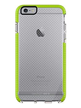 Tech21 Evo Mesh Sport for iPhone 6 Plus - Clear/Lime Green