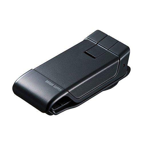 サンワサプライ スマートフォン用クリップ型車載ホルダー(強力ゲル吸盤) CAR-HLD9BK CAR-HLD9BK