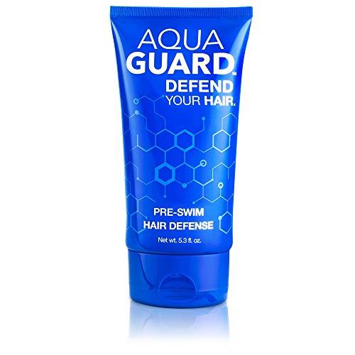 AquaGuard Pre-Swim Hair Defense | Prevents Chlorine Damage, Paraben and Gluten Free, Vegan, Color Safe, Reef Safe, Leaping Bunny Certified | 5.3 oz (1 Bottle)