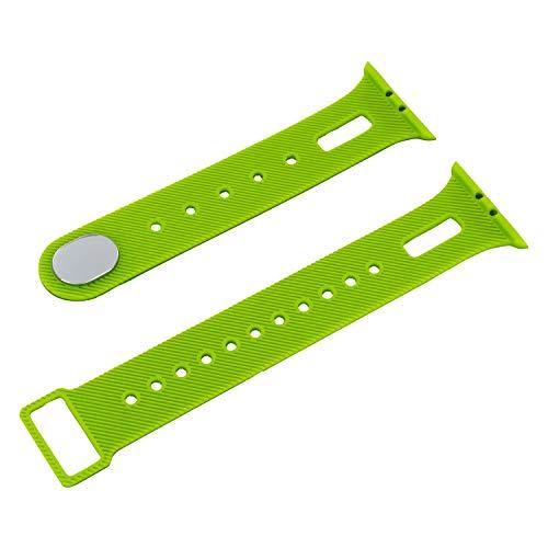 X-WATCH 540222 Smartwatch Wechselarmband für Keto XW FIT Fitnesstracker Damen und Herren Apple grün