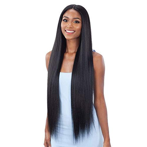 """Shake N Go Organique Synthetic Lace Front Wig - LIGHT YAKY STRAIGHT 36"""" (COPPER)"""
