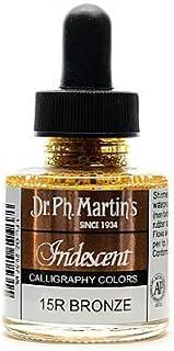 Dr. Ph. Martin's Iridescent Calligraphy Color, 1.0 oz, Bronze (400070-15R)