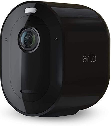 Arlo Pro3 WLAN Überwachungskamera & Alarmanlage, 2K UHD, Zusatzkamera, kabellos, Innen / Aussen, Bewegungsmelder, Farbnachtsicht, 160 Grad Winkel, 2-Wege Audio, Spotlight, VMC4040B, SmartHub benötigt