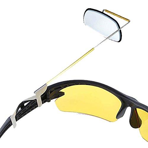 Vococal® Fahrrad Ultra Light 360 Grad Drehbar Reiten Sonnenbrillen Rearview Fahrradspiegel - Radfahren Fahrrad Brillen Spiegel der Hinteren Ansicht