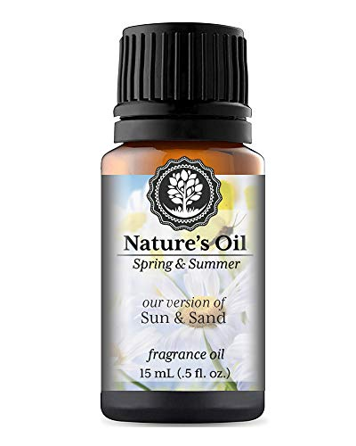 Sun & Sand Fragrance Oil (15ml) (Our Version Of Yankee) For Diffusers, Soap Making, Candles, Lotion, Home Scents, Linen Spray, Bath Bombs, Slime