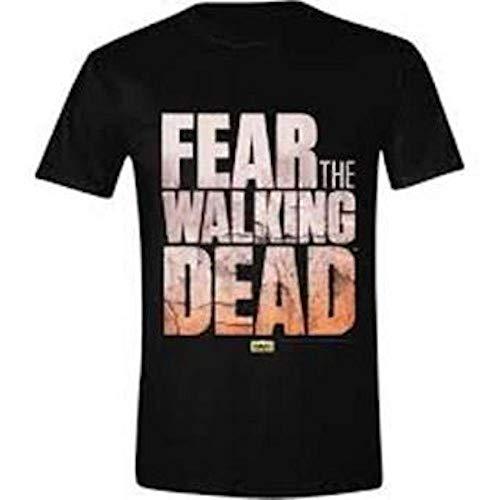 Fear The Walking Dead - Logo - Oficial Camiseta para Hombre -...
