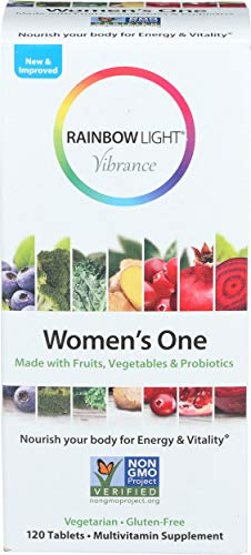 Rainbow Light, Multivitamin Womens One, 120 Count
