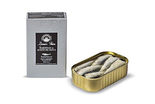 RAMON PEÑA - Sardinillas en aceite de oliva 12/16 pack 4 unidades