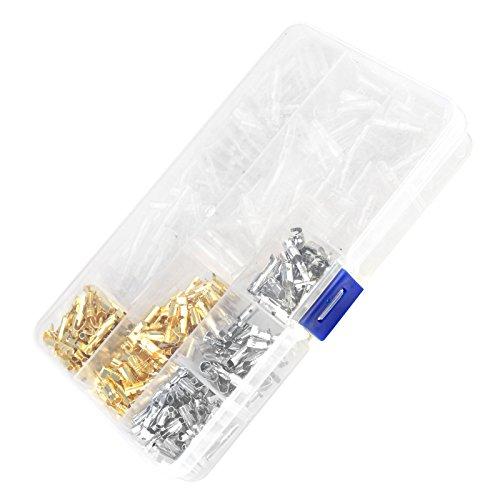 ENET Lot de 100 connecteurs de câblage pour moto en laiton 3,9 mm